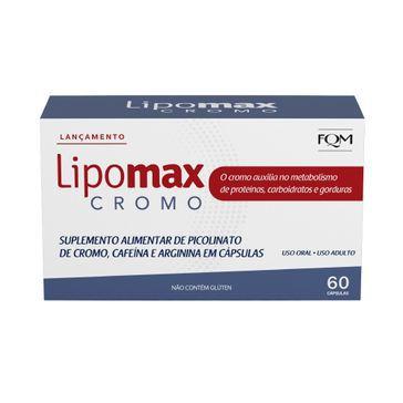 Suplemento Alimentar FQM Lipomax Cromo com 60 cápsulas