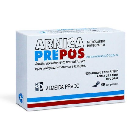 Arnica Pré-Pós com 30 Comprimidos