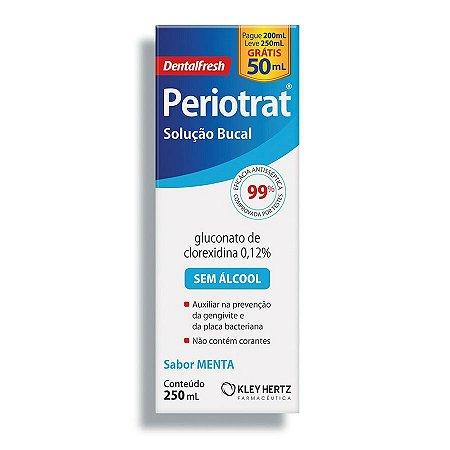 Periotrat Dental Fresh Menta sem Álcool com 250mL