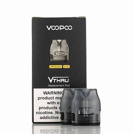 Cartucho de reposição Pod Vthru Voopoo Pack c/2