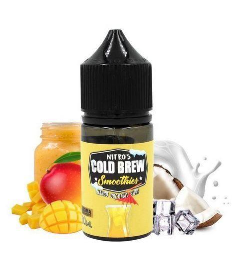 Nitro's Cold Brew NicSalt Smoothies Mango Coconut Surf 30ml