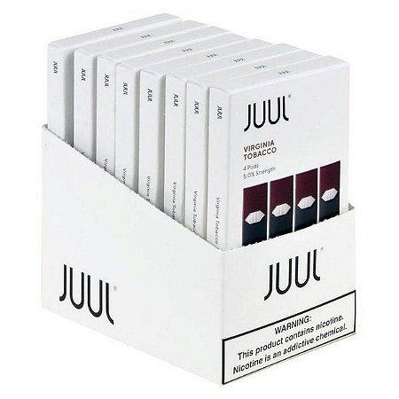 Atacado Juul Virginia Tobacco 5% - 8 packs com 4 pods