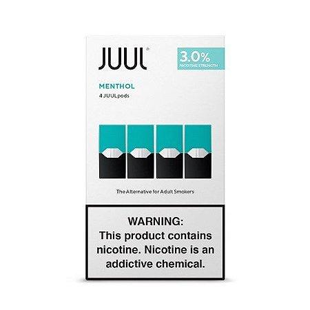 Refil ( pack of 4 ) Juul Menthol - 3%