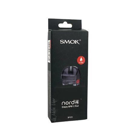 Cartucho de reposição Nord 4  RPM 2 SMOK  com 3