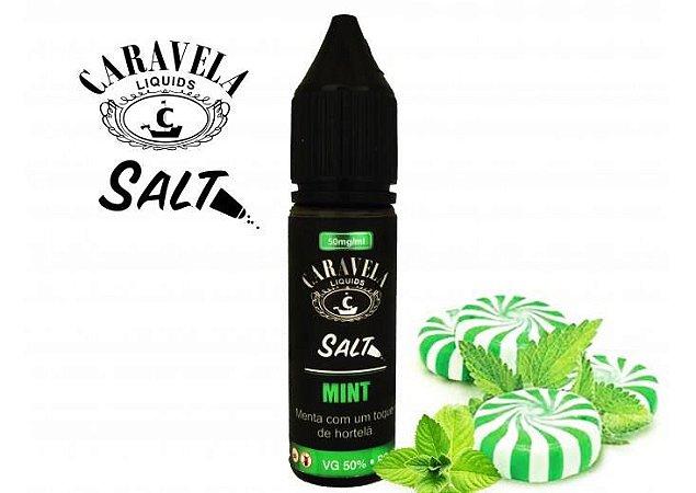 Nic Salt Caravela Liquid Mint 35mg - 15ml