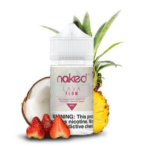 Naked 100 - Lava Flow - 0mg 60ml
