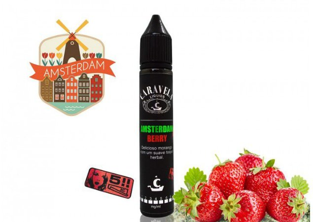 Caravela Liquid - Amsterdam Berry - 3mg - 30ml