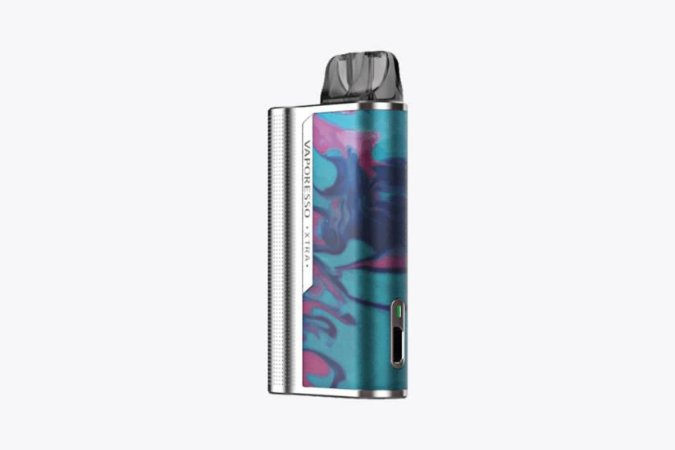 Kit Vaporesso XTRA - Silver Resin