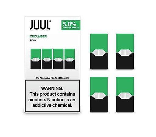 Refil Juul - (PACK of 4) - Cool Cucumber 5%