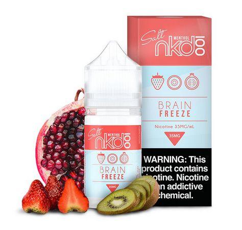 Nic Salt NKD100 Menthol Brain Freeze 50mg 30ml
