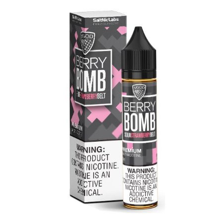 Nic Salt VGOD Berry Bomb 30ml - SaltNic / Salt Nicotine - 25mg e 50mg