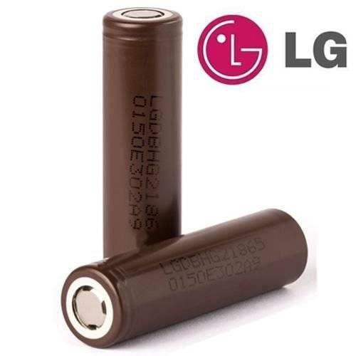 Bateria 18650 LG Chocolate HG2 3000mAh ( unitário )
