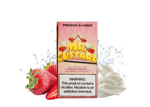 Mr Custard - Strawberry Vanilla 100ml