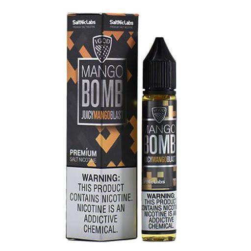 Nic Salt VGOD Mango Bomb ICED 30ml - SaltNic / Salt Nicotine - 25mg e 50mg