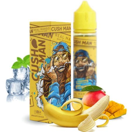 e-Liquid Juice Nasty Cush Man Mango Banana 60ml