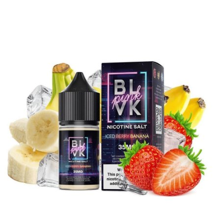 Blvk Nicsalt Iced Berry Banana 30ml