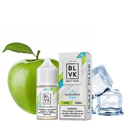 Blvk Nicsalt Sour Apple 30ml