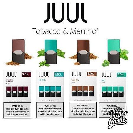 Refil Juul Original 3% e 5% a  Pronta Entrega.