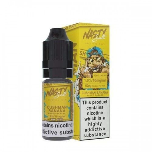 Nic Salt Nasty Juice Cush Man Mango Banana 30ml