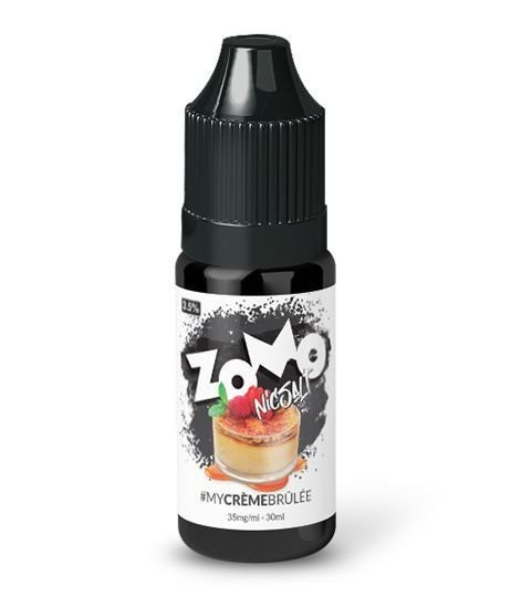 Líquido Zomo Salt - My Creme Brulee 30ml