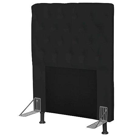 Cabeceira Cama Box Solteiro 90cm Cristal Corino