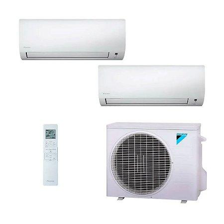 Ar Condicionado Multi Split Inverter Daikin 18.000 BTUs (1x Evap HW 9.000 + 1x Evap HW 12.000) Quente/Frio 220V