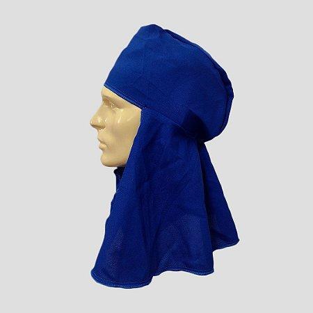 Touca reuso Azul sem aba c/ velcro Árabe Dystray