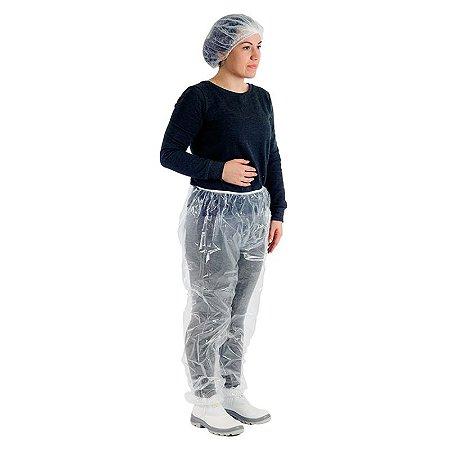Calça reuso EVA com elástico Prevemax CA 30355 - Transparente