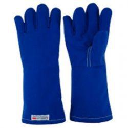Luva Calor Azul 5dedo Jobeluv 45cm CA 27969