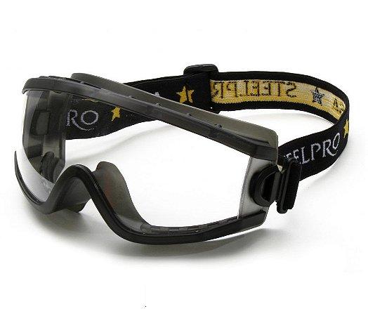Óculos Ampla Visão Policarbonato Transparente lente/UV Everest Danny CA 19628