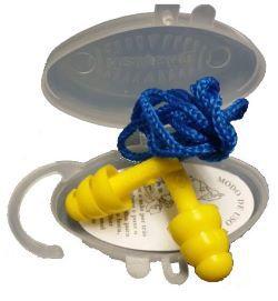 Protetor Auricular Copolimero Amarelo cordão/poliester 15dB Dystray CA 10551