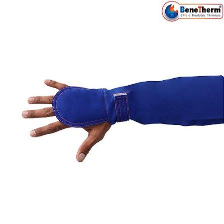 Mangote Calor Algodão Therm-K Benetherm CA 37904 - Azul