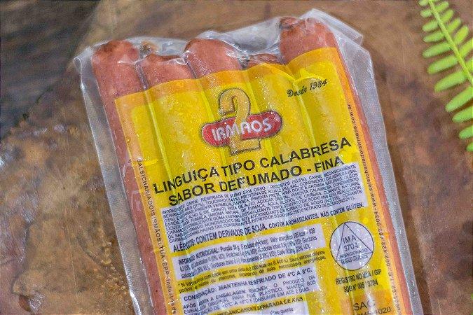LINGUIÇA TIPO CALABRESA FINA - 400g