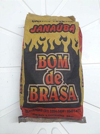 CARVÃO BOM DE BRASA - 3KG