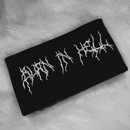 CAMISETA BURN IN HELL