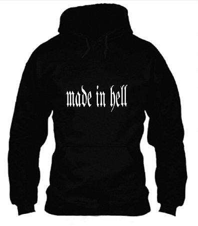Moletom Made In Hell