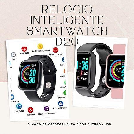 Relógio Inteligente Smartwatch D20