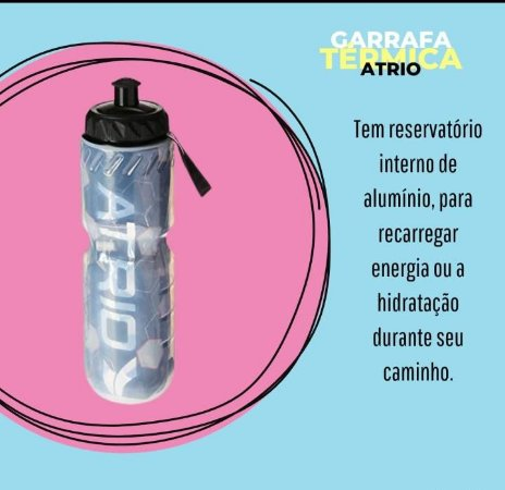 Garrafa Termica Atrio Azul - 650ml