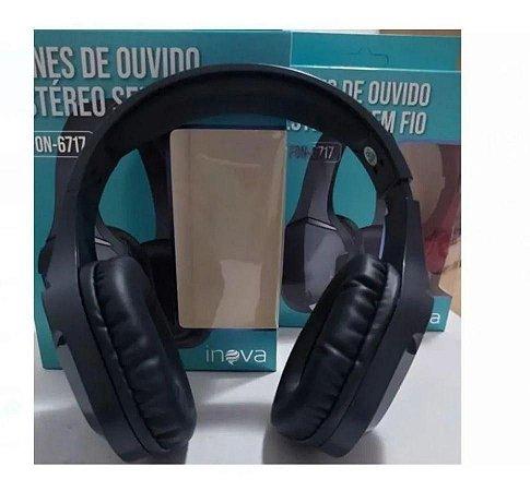 Fone de Ouvido Inova Bluetooth FON-6717 Sem fio Estereo