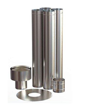 Kit Calefator Inox 150mm