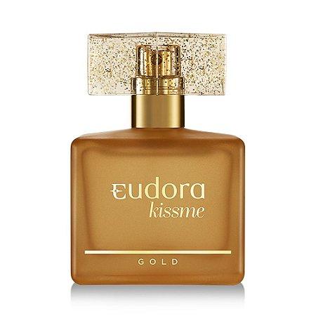 Perfume Kiss Me Gold Eudora |Deo Colônia Kiss Me Gold