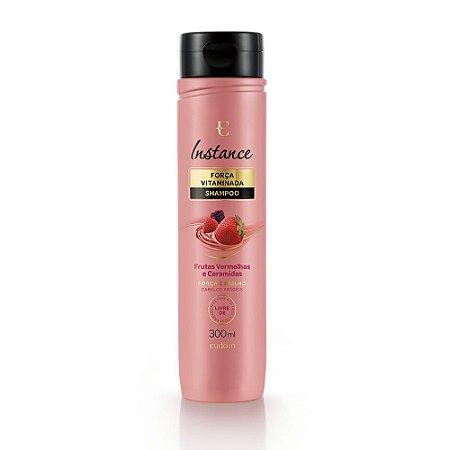 Shampoo Força e Brilho Instance Eudora | Frutas Vermelhas Eudora