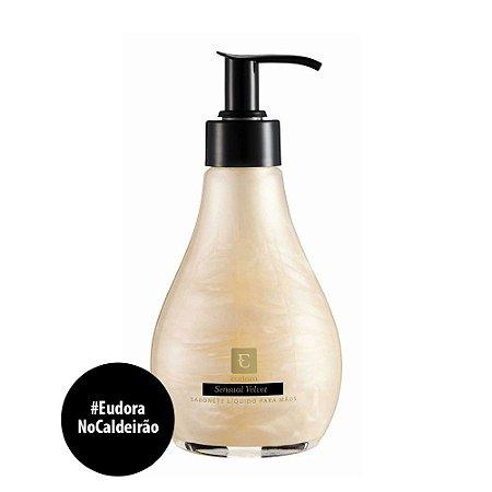 Sabonete Líquido Sensual Velvet | Sabonete Liquido Eudora