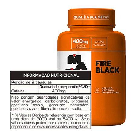 FIRE BLACK - 120 CAPS - MAX TITANIUM