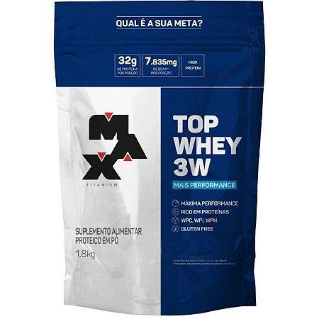 TOP WHEY 3W (1.8Kg) - MAX TITANIUM