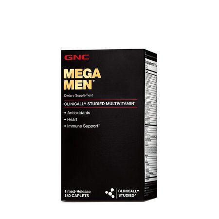 MEGA MEN (180 Caps) - GNC