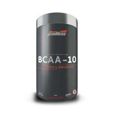 BCAA -10 GLUTAMINA E AMINOÁCIDOS EM PÓ (300g) - NEW MILLEN