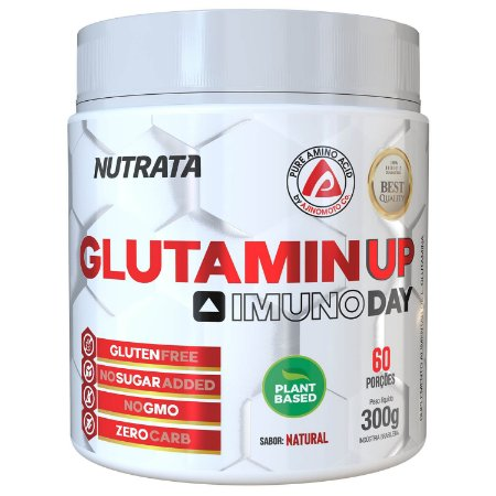 GLUTAMIN UP IMUNO DAY (300g) -  NUTRATA