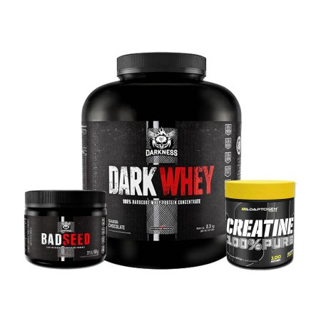 DARK WHEY (2,3 Kg) + BADSEED (150g) + CREATINE (100g)