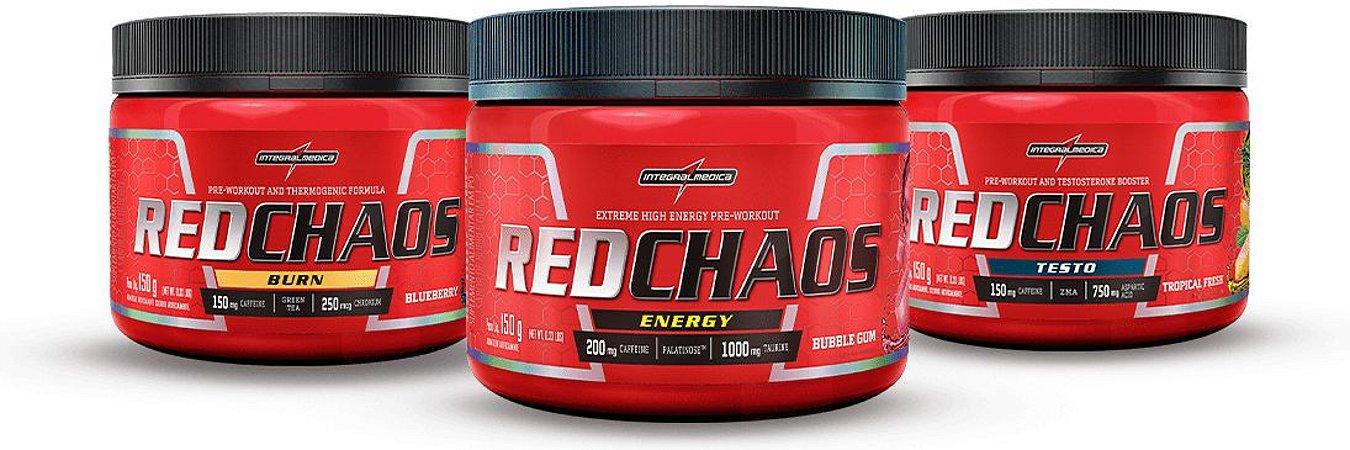 KIT RED CHAOS (150g) - 3un - INTEGRALMEDICA